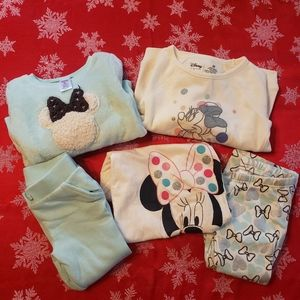 Lot of 5 Minnie mouse 3t little girls clothes